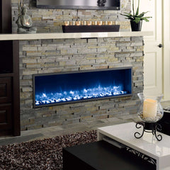 Dynasty DY-BT55 55 Inch Wall Mount Linear Built-In Electric LED Fireplace New