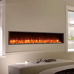 Dynasty DY-BT63 63 Inch Wall Mount Linear Built-In Electric LED Fireplace New