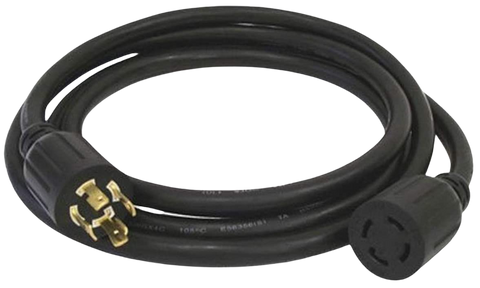 Generac 6328 25 ft. 30 AMP (30A) 4-Prong 120/240V Power Cord New