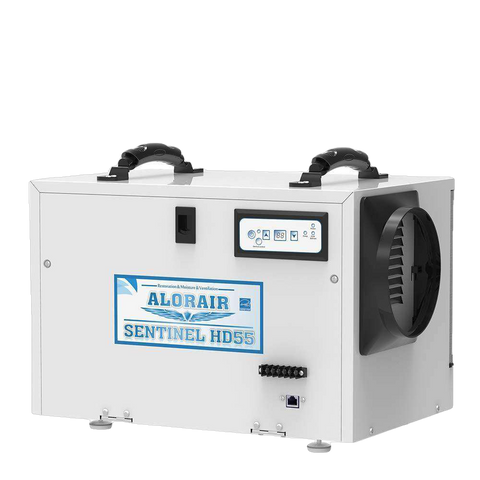 AlorAir HD55 Sentinel Basement/Crawlspace Dehumidifier 55 Pints with HGV Defrosting and Remote Monitoring New