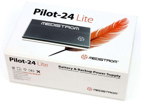 Medistrom P24MPLBP1 Pilot-24 Lite CPAP Battery and Backup Power Supply New