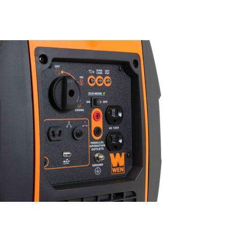 WEN 56200i Super Quiet 2000W/1600W Portable Inverter Generator CARB Compliant New