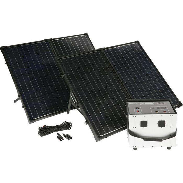Humless 2 Panel Bundle 1500 Series 0.6kWh Solar Generator New