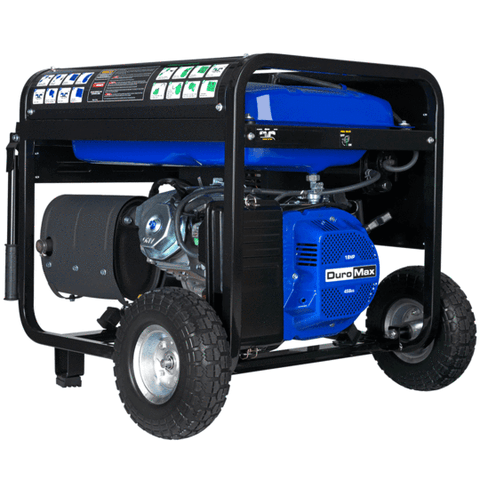 DuroMax XP12000EH 9500W/12000W Dual Fuel 18 HP Electric Start Generator New