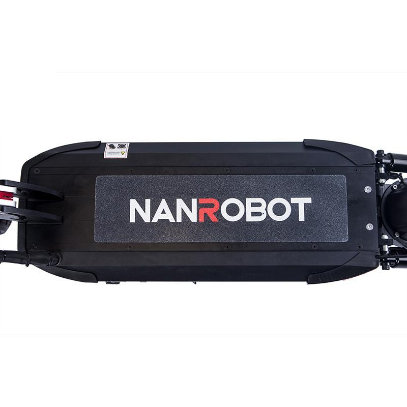 NanRobot D5+ 2.0 w/ Seat Foldable Lightweight 2000W 26ah 52V Electric Scooter Black New