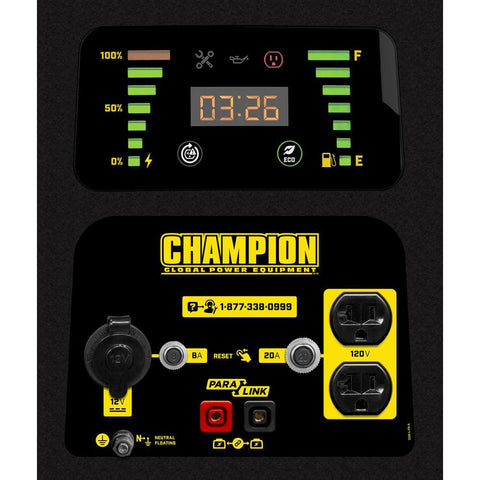 Champion 100402 1600W/2000W Dual Fuel Inverter Generator New