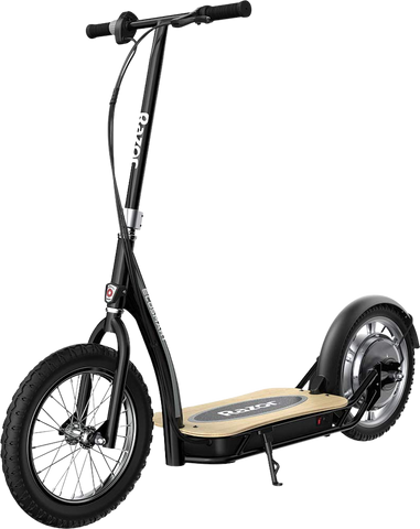 "Razor EcoSmart SUP Up to 12 Mile Range 15.5 MPH 16"" Tires Electric Scooter Black New"
