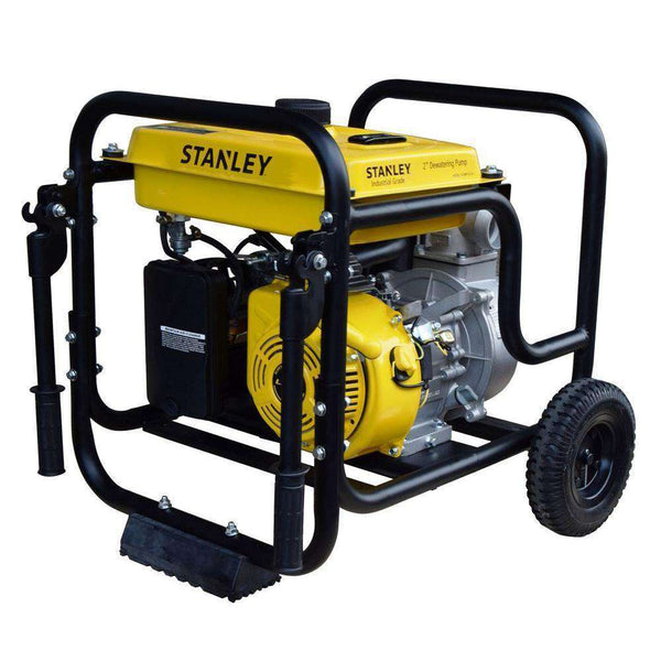 Stanley ST2WPLT-CA 7 HP 2 in. Suction and Discharge Ports Non-Submersible Displacement Water Pump New