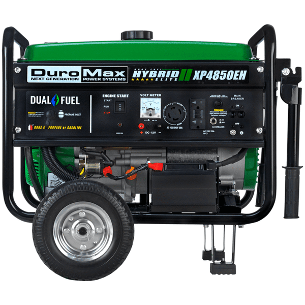 DuroMax XP4850EH 3500W/4850W Dual Fuel 7 HP Electric Start Generator New
