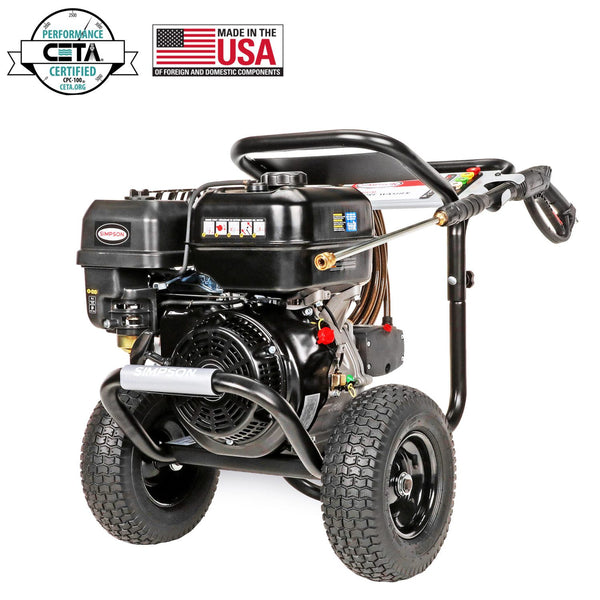 Simpson PS60843 PowerShot 4400 PSI 4 GPM Gas Pressure Washer Manufacturer RFB