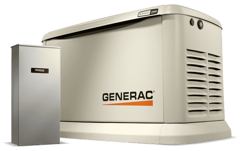 Generac 7043 Guardian 22kW Standby Generator w/ 200 Amp Automatic Transfer Switch