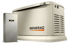 Generac 7043 Guardian 22kW/19.5kW Standby Generator w/ 200 Amp Automatic Transfer Switch New (free 10 year warranty)