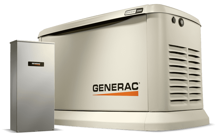 Generac 7033 Guardian 11kW/10kW LP/NG Standby Generator w/ Smart Transfer Switch New