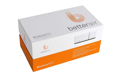 BetterAir Biotica800 800 Sq. Ft. Aerial Dispersion Organic and Natural Probiotic Air Allergen Treatment System New