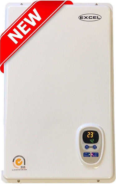 Excel 10009 Pro 6.6 GPM Liquid Propane LP Tankless Water Heater Whole House with Flue Kit New