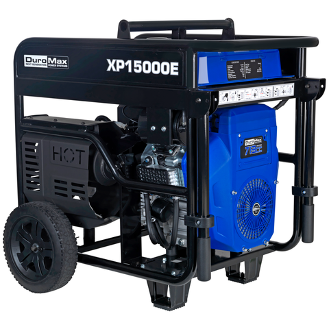 DuroMax XP15000E 12000W/15000W Gas Electric Start Generator New