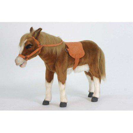 Hansa Creations 5444 Realistic Pony 28 Inch Stuffed Animal Toy New