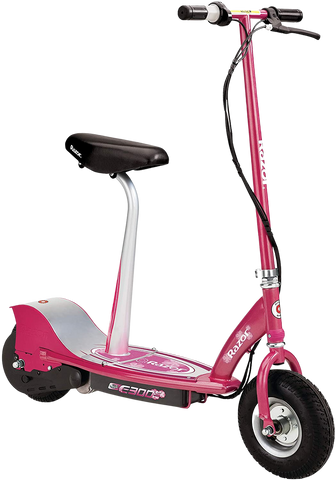 "Razor E300S Sweet Pea Up to 10 Mile Range 15 MPH 9"" Tires Electric Scooter Pink New"