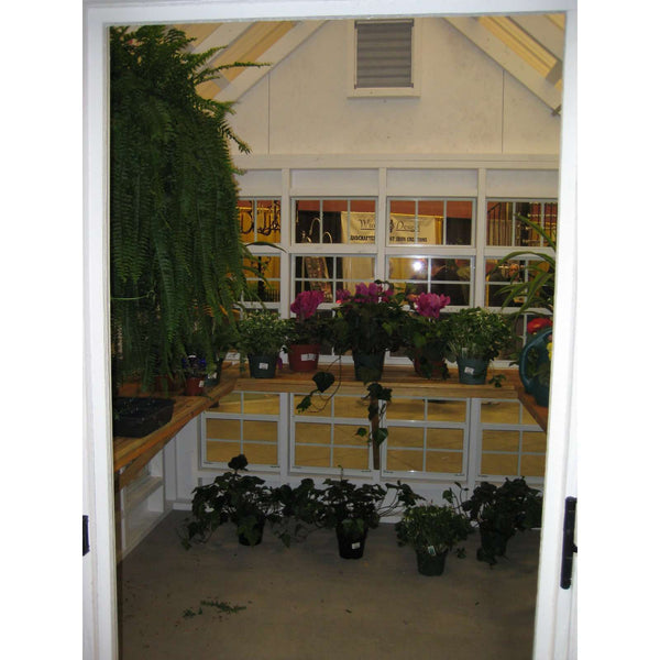 Little Cottage Company 10 ft. x 16 ft. Colonial Gable Greenhouse DIY Kit New
