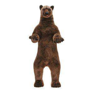 Hansa Creations 3626 Realistic Life-Size Grizzly Bear 60 Inch Stuffed Animal Toy New
