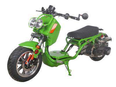 Ice Bear PMZ150-21 Maddog Gen IV 150cc Scooter Neon Green New