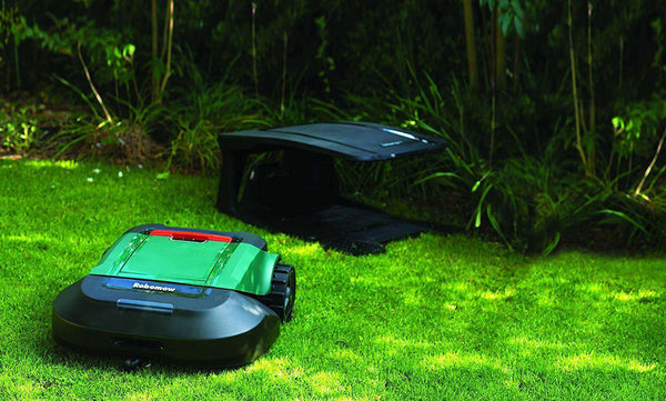 "Robomow RS630 3/4 Acre Dual Blades Alexa Ready 22"" Cut Large Yard Robot Lawn Mower New"