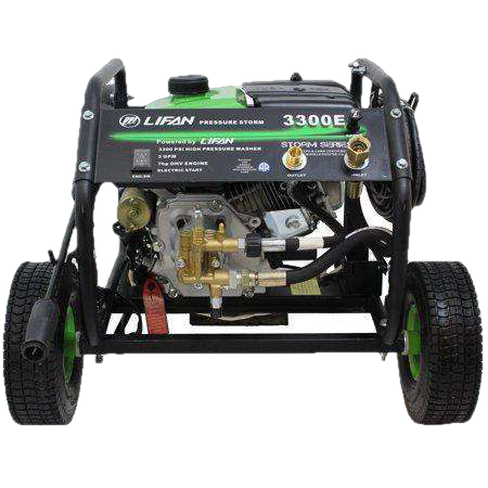 Lifan 3300 PSI 2.5 GPM Electric Start Pressure Washer LFQ3370E New