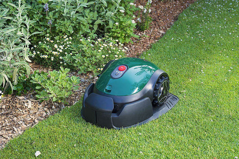 "Robomow RX12 1/20 Acre Single Blade 7"" Cut Small Yard Robot Lawn Mower New"