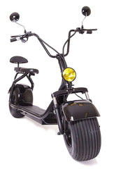 eDrift UH-ES295 2.0 Electric Fat Tire Scooter Moped with Shocks 2000w Hub Motor Harley E-Bike New