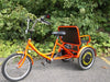 "Belize Bike 96603 Tri-rider Buddy Trike 20"" 6 Speed 2 Passenger Adaptive Tricycle Red New"