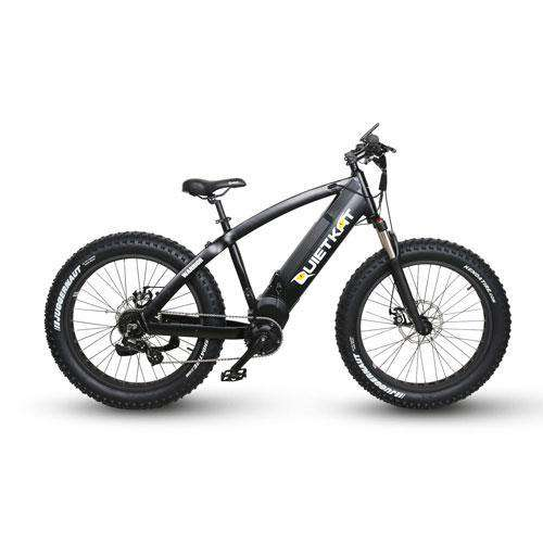 "QuietKat 18QKM1000CCHM-BLK Warrior 1000W 48V 26"" Electric Hunting Fishing Bike New"