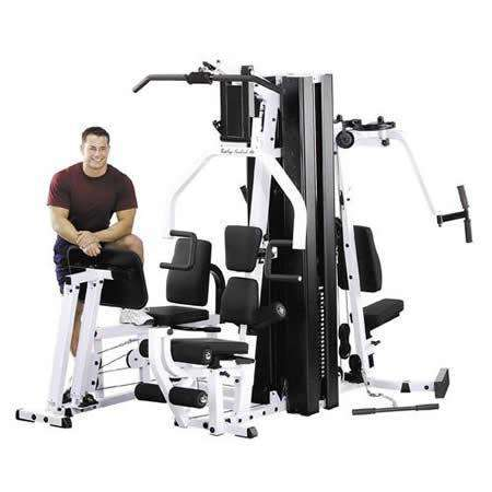 Body Solid EXM3000LPS 2 Stack Home Multi-Station Gym New