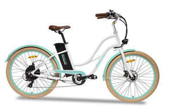 Emojo Breeze 26 in EBK08-02 36V 500W White Electric Lady Beach Cruiser New