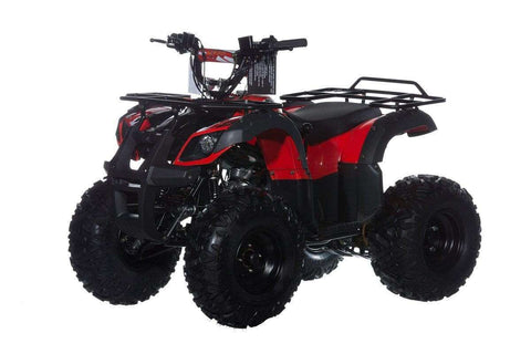 Ice Bear PAK125-3 Bull 125 Semi Automatic with reverse 125cc Atv Red New