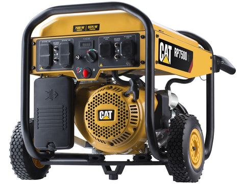 CAT RP7500-CARB 502-3690 7500W/9000W Electric Start Portable Gas Generator New