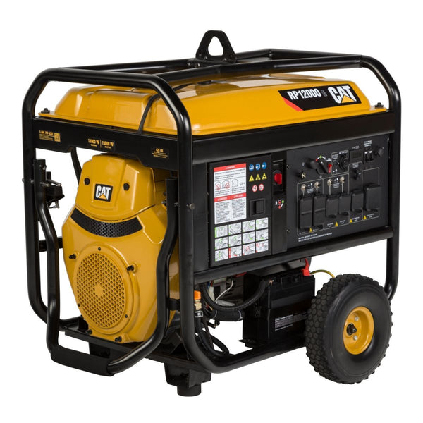 CAT RP12000E-EPA 502-3699 12000W/15000W Electric Start Portable Gas Generator New
