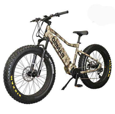 "Rambo R1000XP G3 True Timber Camo 1000W 48V 26"" RST Renegade Xtreme Performance Front Suspension Electric Hunting Bike New"