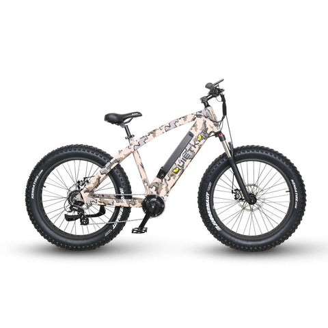 "QuietKat 18QKM750CCHM-CAM Ambush 750W 48V 26"" Electric Hunting Fishing Bike New"