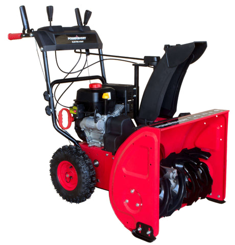 "Powersmart DB 7651 24"" Two-Stage Electric Start Snow Blower Manufacturer RFB"