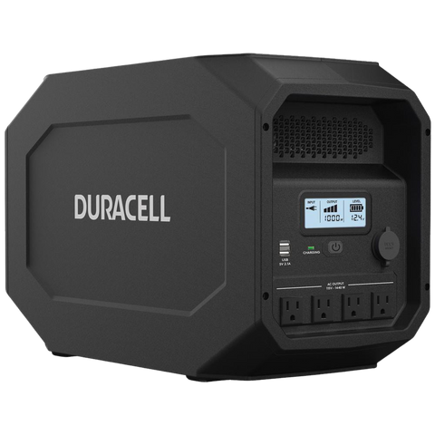 Duracell PowerSource 1440W Portable Power Station Solar Generator 4X 1800W AC Outlets & 660Wh Capacity New
