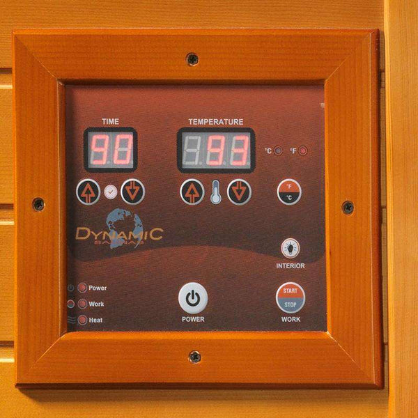 Golden Designs GD-DYN-6202-03 Versailles HF Edition 2 Person 75 Inch 6 Carbon Dynamic Sauna New