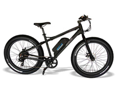 "EMOJO Wildcat EBK03-02 48V 500W 26"" Fat Tire Electric Bike Black New"