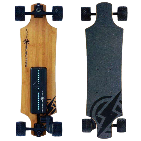 Atom B10X All-Terrain Longboard Electric Skateboard 90Wh Lithium Battery 1000W Motor New