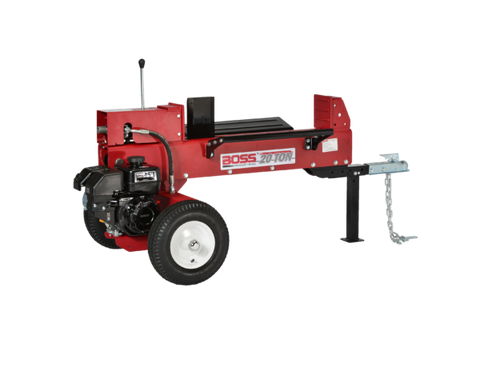 Boss Industrial GD20T24 Log Splitter 6.5 HP 4-Cycle Engine 20 Ton New