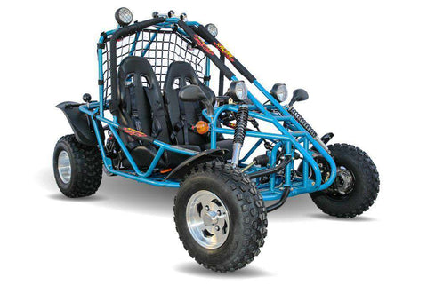 Kandi KD-200GKA-2A Spider 177.3cc 2-Seat Off-Road Gas Go Kart Blue New