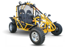 Kandi KD-200GKA-2A Spider 177.3cc 2-Seat Off-Road Gas Go Kart Yellow New