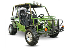 Kandi KD-200GKH-2A 200cc Off-Road 2-Seat Front Suspension 4-Wheeler Gas Go Kart Green New