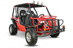 Kandi KD-200GKH-2A 200cc Off-Road 2-Seat Front Suspension 4-Wheeler Gas Go Kart Red New