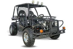 Kandi KD-200GKH-2A 200cc Off-Road 2-Seat Front Suspension 4-Wheeler Gas Go Kart Black New