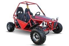 Kandi KD-200GKM-2A 200cc Off-Road 2-Seat Front Suspension 4-Wheeler Gas Go Kart Red New